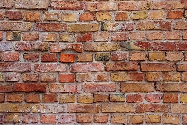 Alte Ziegelstein-Mauer Textur 1