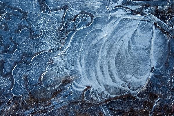 Eispfütze Texture 10 - gratis downloaden