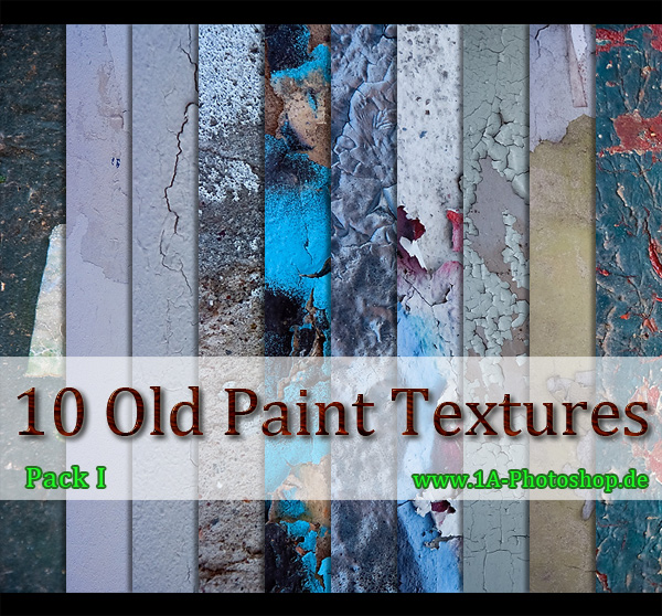 Free Old Paint Textures kostenlos - Pack I gratis downloaden