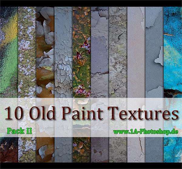 Free Old Paint Texture kostenlos - Pack II gratis, alternder blätternder Farbe