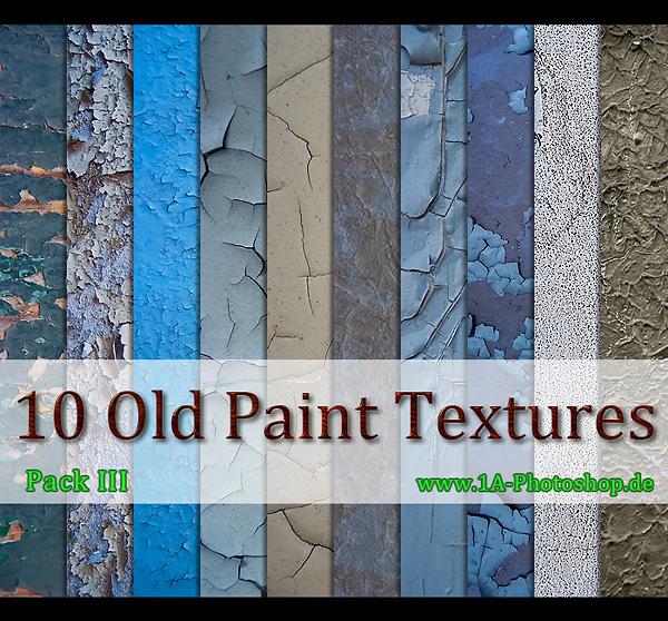 Free Old Paint Texture kostenlos - Pack III gratis, alte bröckelnde Farbe