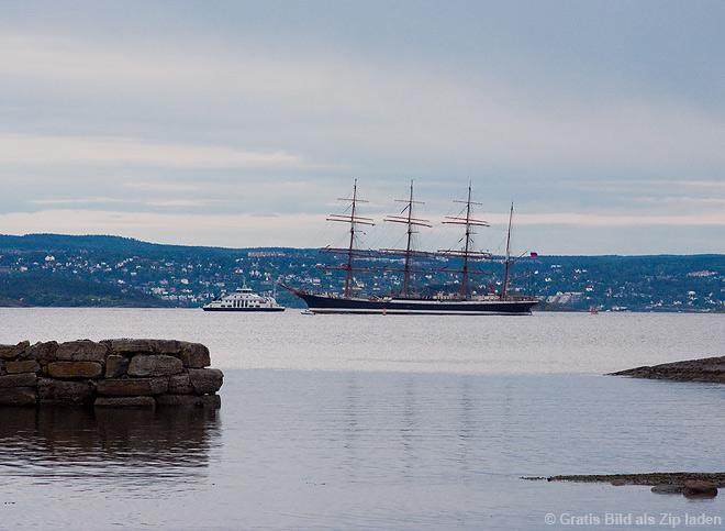 Erstes Oslo-Bild