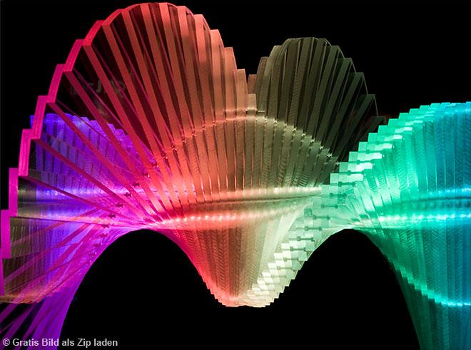 Spirale farbig