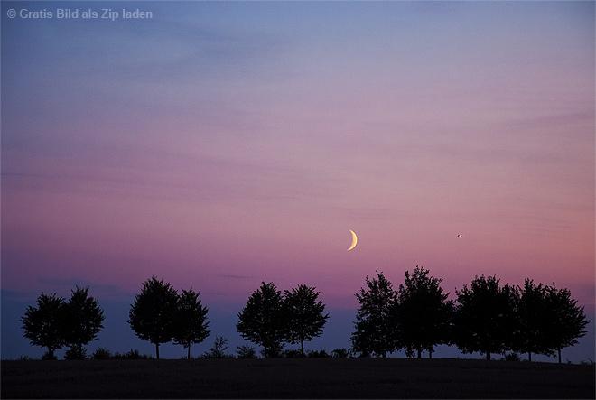 Mond überm Mörderberg