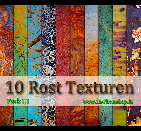 Free 10 Rost Texturen Bilder - Pack III gratis downloaden