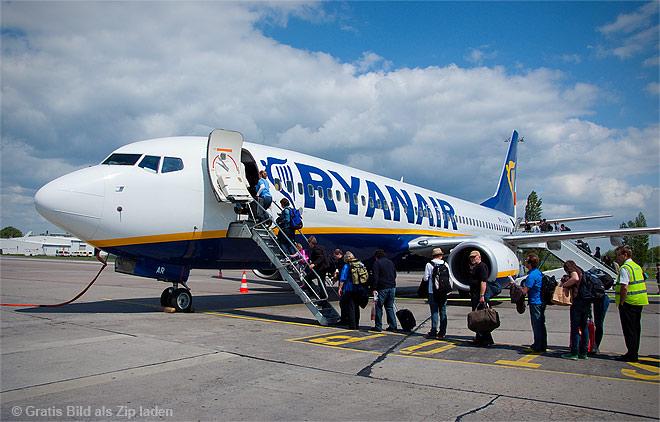 Ryanair Berlin - Oslo