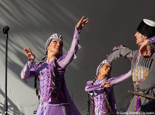 Tänzer aus Aserbaidschan