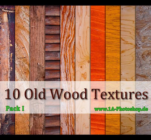 Alte Holz Texturen - old wood Textures - gratis downloaden